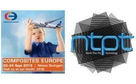 Meet NTPT™ at Composites Europe 2015 in Stuttgart, Germany